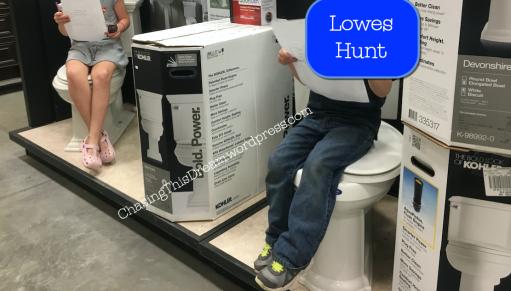 lowes hunt toilets